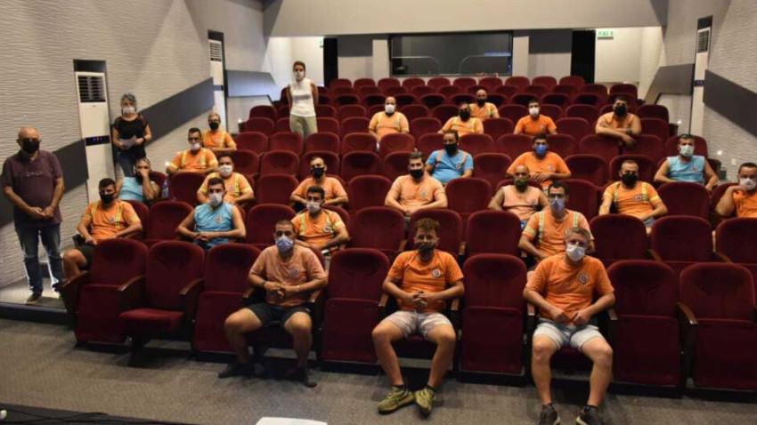 Girne Belediyesi'nden iş güvenliği eğitimi
