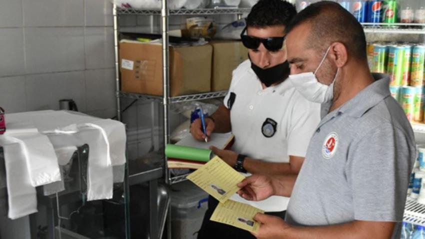 Girne'de 11 iş yerinin kapısına kilit vuruldu