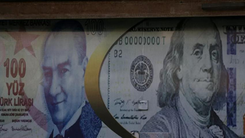 Dolar/TL 7.4929 ile tarihi zirvesini yeniledi