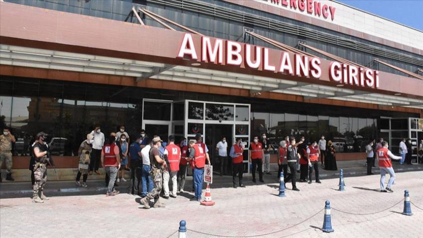 Suriye'nin kuzeyinde Türk Kızılay aracına saldırı