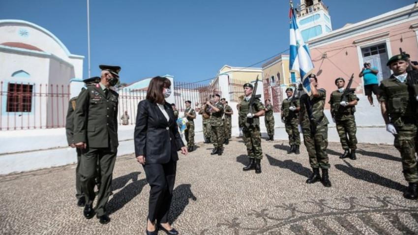 Yunanistan Cumhurbaşkanı Güney Kıbrıs'ta