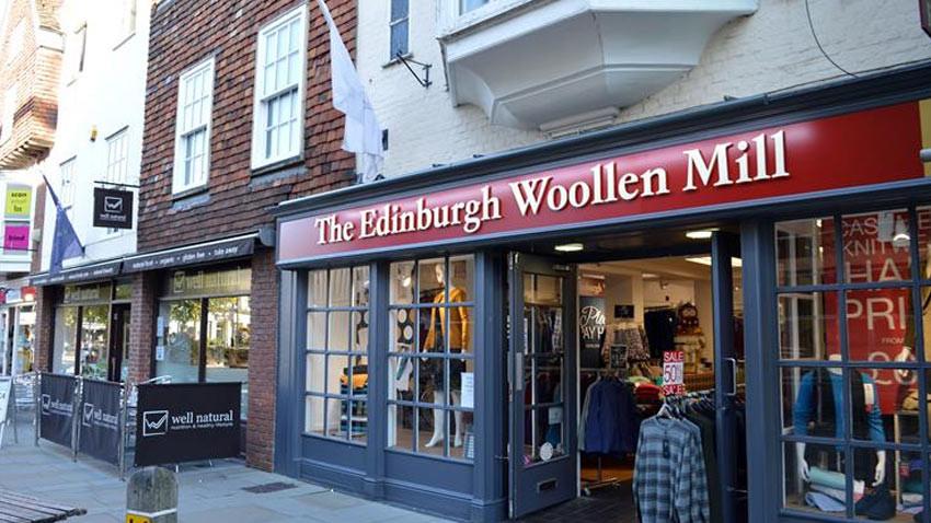 İngiltere'nin ünlü markası Edinburgh Woolen Mill iflasın eşiğinde