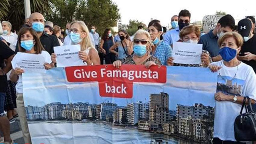 Maraş'ın açılmasına karşı Rumlardan protesto