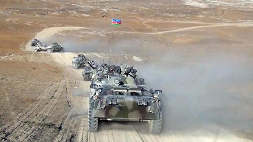 Azerbaycan Ermenistan arasında ateşkes başladı