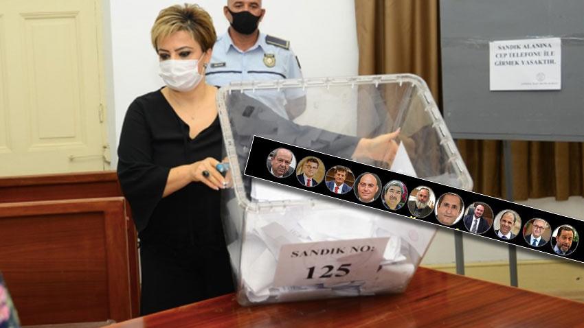 KKTC Cumhurbaşkanlığı seçimlerinde tüm sandıklar açıldı. Kim ne kadar oy aldı?