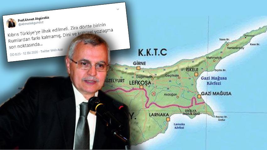 """Rektörden Kıbrıslı Türkler için akıl almaz sözler: """"Rumlardan farkı kalmamış"""""""