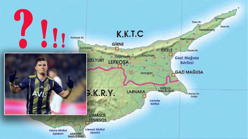 Fenerbahçe'nin genç yıldızı Güney Kıbrıs'ta