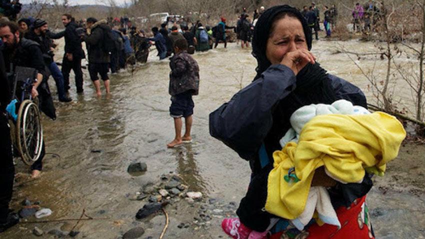 Yunanista'dan ses bombası! Sığınmacılara karşı insanlık dışı tedbir!