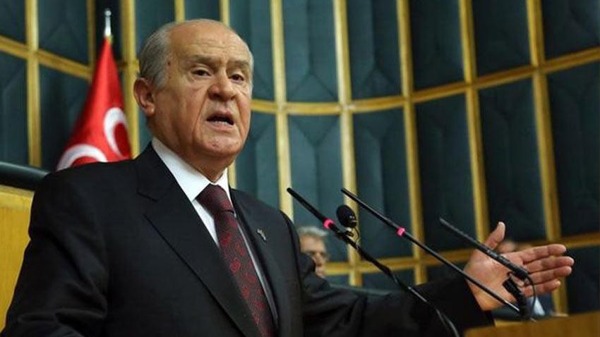 Devlet Bahçeli, Tatar'ı tebrik ederken çok sert konuştu