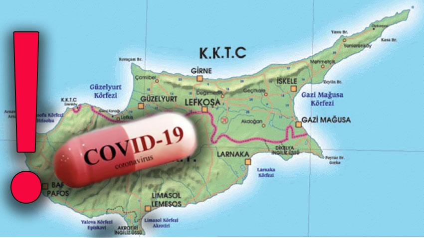 Kıbrıs adasında korona vakaları artıyor