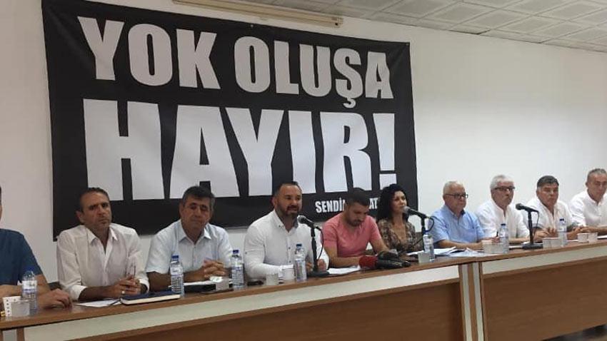 Sendikal Platform seçimlere müdahale iddiasında bulundu: Sonucu kabul etmiyoruz!