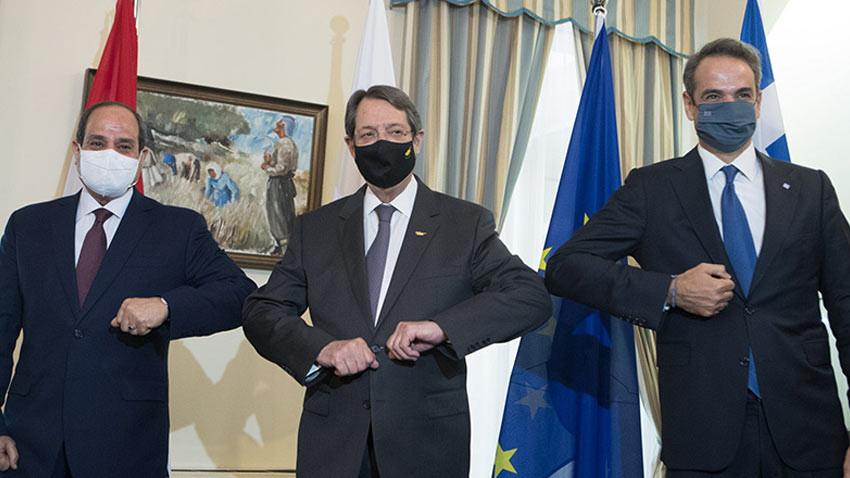 Mısır-Yunanistan-G.Kıbrıs zirvesi bildirisine Türkiye'den ret