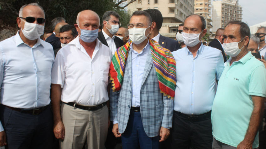 Fuat Oktay KKTC'ye Türkiye'nin tam desteğini iletti