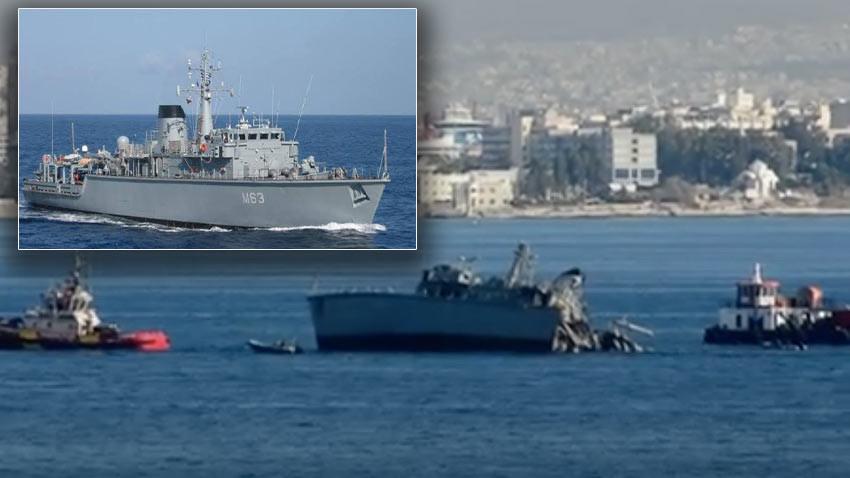 Yunanistan şokta! Savaş gemisi Ege'de battı 2 yaralı var...