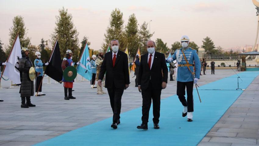 Tatar: KKTC'nin statüsü yükseldi. Kıbrıs eskiye göre daha rahat.