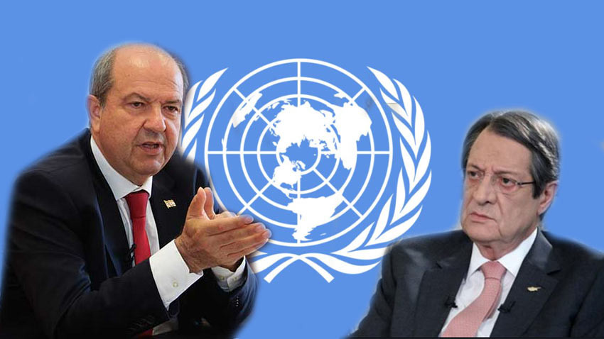 Ersin Tatar ve Nikos Anastasiadis ilk kez buluşuyor