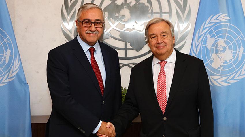 BM Genel Sekreteri Guterres'ten Mustafa Akıncı'ya mektup! Neler var?