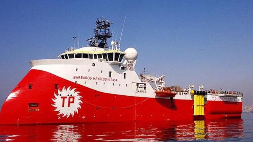 Barbaros Hayreddin Paşa gemisi için Doğu Akdeniz NAVTEX'i