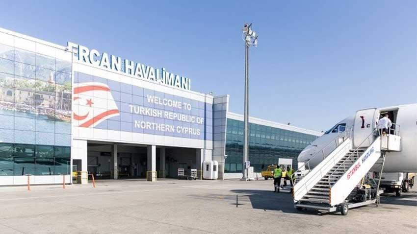 Ercan Havalimanı 15 Kasım'da kapalı! Neden?