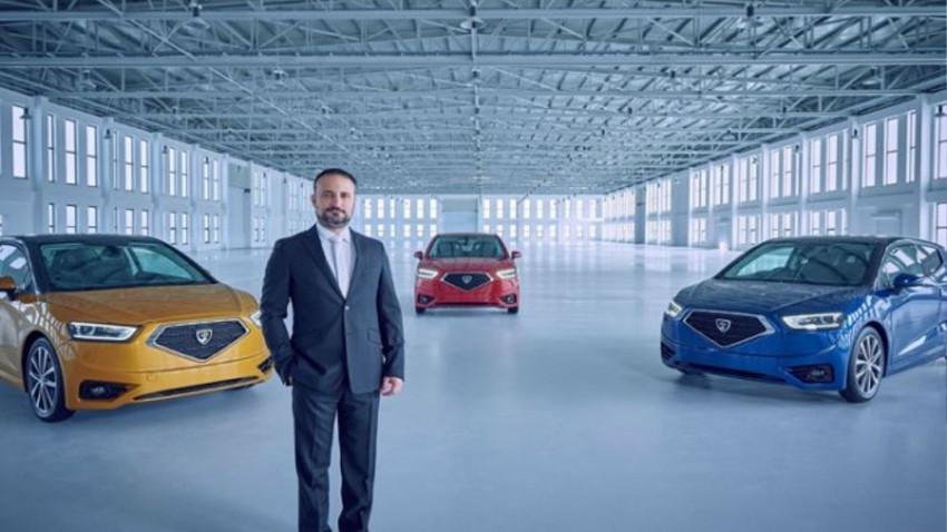 KKTC'nin ilk yerli otomobil GÜNSEL Türkiye yolcusu