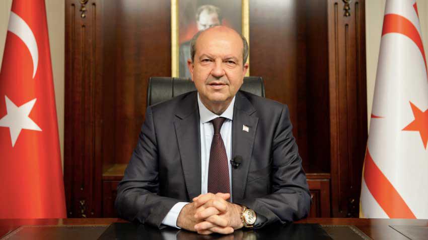 """Cumhurbaşkanı Tatar """"İki devlet formülünden geri dönüş yok"""""""