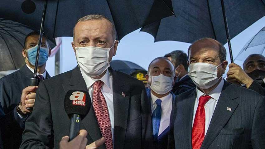 """Erdoğan Maraş'tan dünyaya mesajı """"Anavatan olarak KKTC'nin her adımında yanındayız"""""""