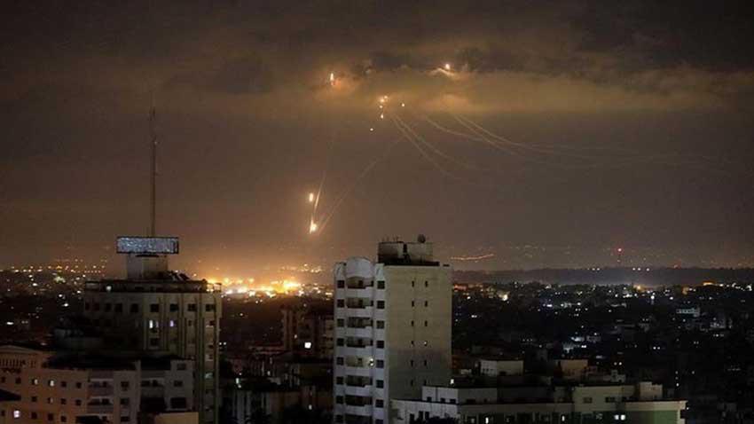 İsrail ordusu Gazze'yi yine vurdu!