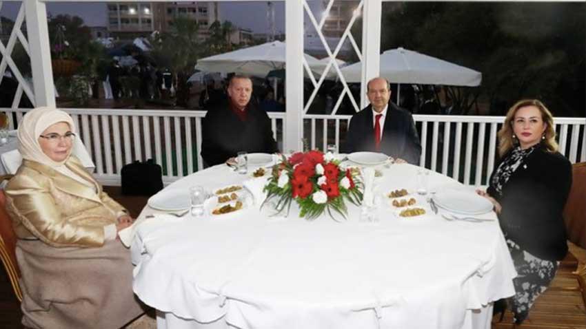 Şeftali kebabı, fıstık sarma yiyelim, Türk toprağını Rumlara verelim öyle mi?