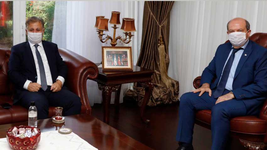 KKTC'de acil koronavirüs tedbirleri mi geliyor? Cumhurbaşkanı ve Sağlık Bakanı görüştü...