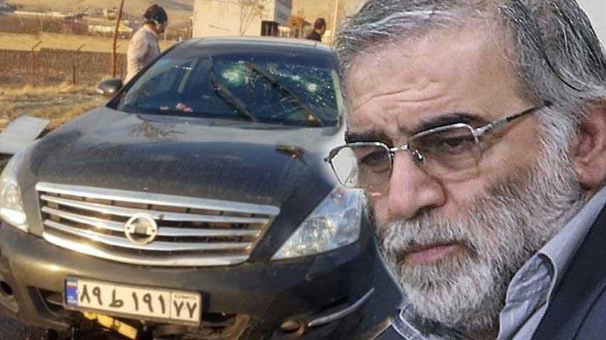 ABD'liler de İranlı nükleer fizikçi Fahrizade suikastinden İsrail'i suçladılar