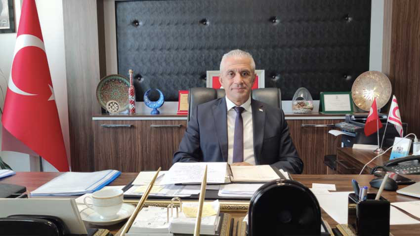 """Ekonomi ve Enerji Bakanı Hasan Taçoy'dan """"borçsuzuz"""" mesajı """"Borçları kapattık artıya geçtik"""""""