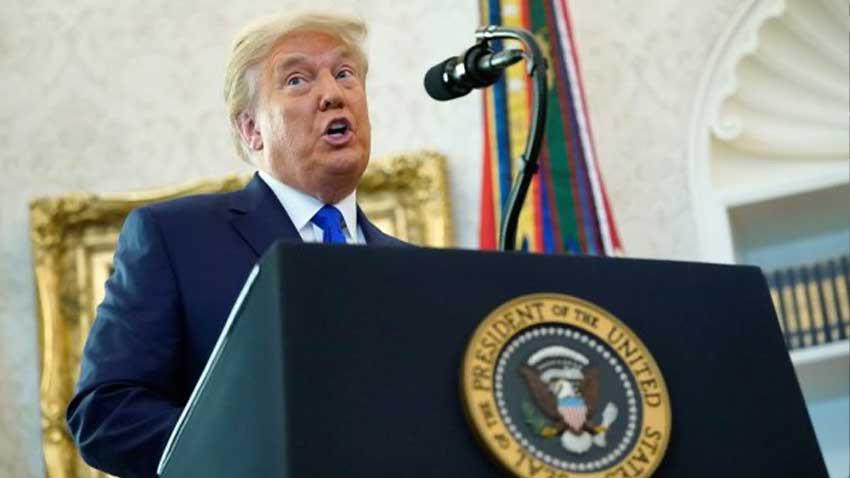"""Trump'tan seçim hileli tekrarına ek olarak """"Üçüncü dünya ülkesi gibiyiz"""""""