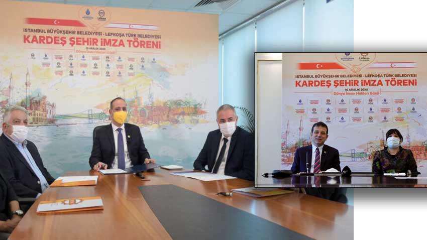 Lefkoşa ile İstanbul kardeş şehir protokolü imzalandı
