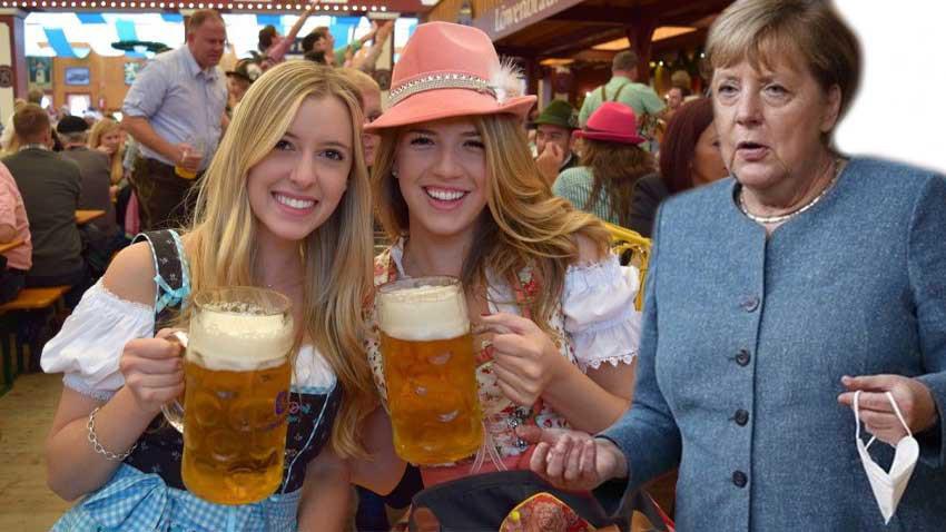 Merkel Almanya'da alkolü yasakladı! Biracı Almanlar şokta!