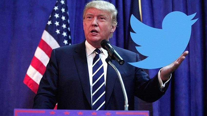 Trump'ın Twitter hesabı kalıcı olarak askıya alındı