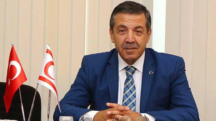 Dışişleri Bakanı Tahsin Ertuğruloğlu pazartesi günü Ankara'da