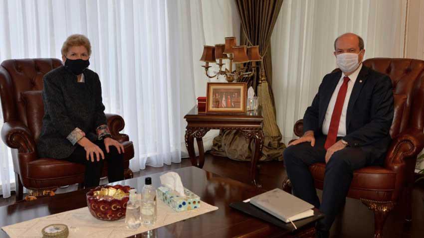 Cumhurbaşkanı Tatar ile Lute görüşmesi tamamlandı... New York'ta 5+1 ne zaman?