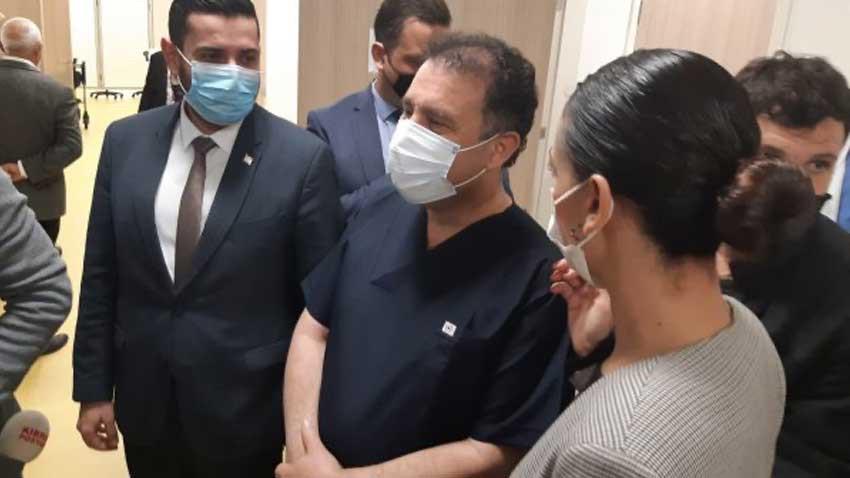 Başbakan Saner aşıyı oldu ve dedi ki...