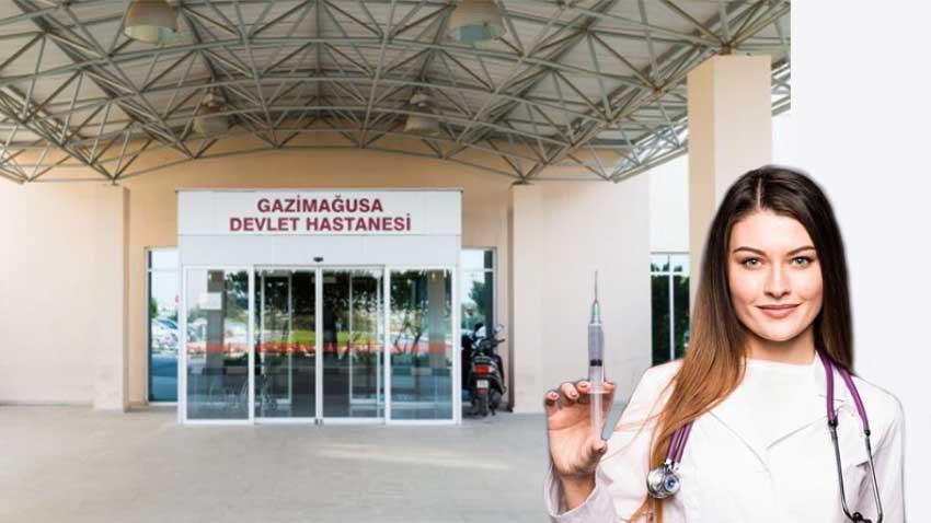 Gazimağusa Devlet Hastanesi'nde grev! Sağlıkçılar seslerinin duyulmasını istiyor