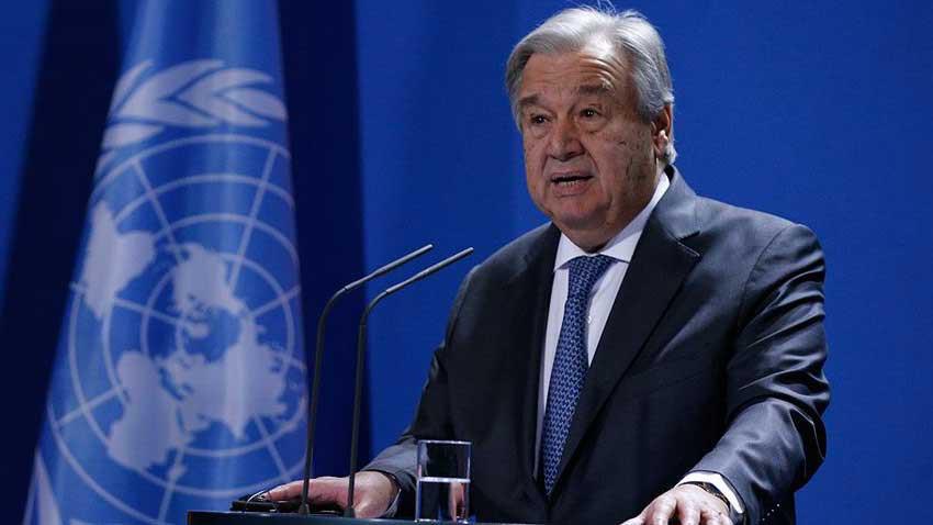BM'den gayriresmi toplantı daveti yakın... Genel Sekreter Guterres duyurdu