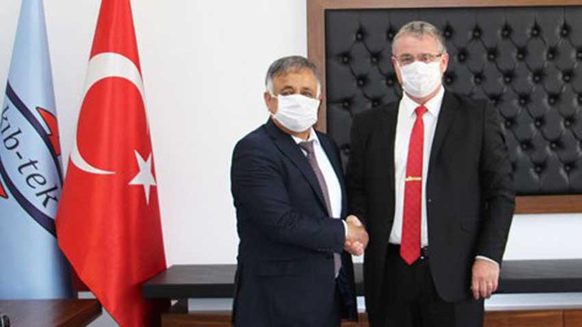 KKTC'nin elektrik kurumu Kıb-Tek'te görev değişimi...