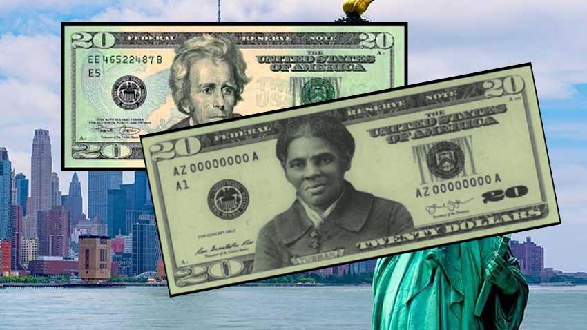 ABD 20 Dolar banknotu üzerinde başkanın yerine o kadının portresi geliyor