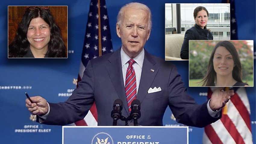ABD Biden'ın yanındaki 3 Türk kadını konuşuyor! Çok önemli görevleri var