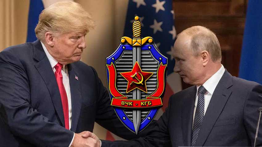 Donald Trump KGB tarafından yetiştirildi! Dünyayı sarsan iddia ve kitap...