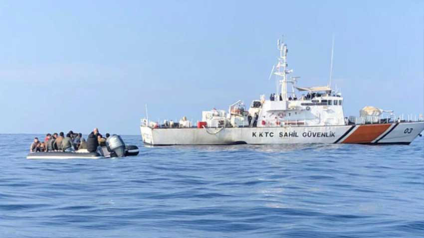 2020'de KKTC sahillerinde 550 göçmen kurtarıldı! Alkışlanacak çalışmanın sonucu