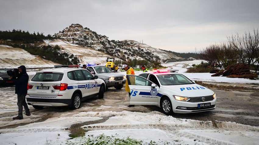 Uzmanlar uyardı! Türkiye üzerinden Kıbrıs'a kar geliyor
