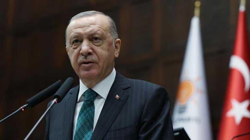 """Cumhurbaşkanı Erdoğan Kıbrıs için sert konuştu """"Yok böyle yağma"""""""