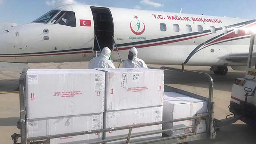 Türkiye'den KKTC'ye koronavirüs aşısı desteği! 20 bin doz aşı daha geldi...