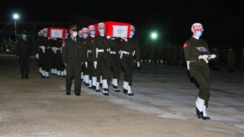 PKK mağarada katletti... Gara'da 13 şehidimiz var! Kimlikleri açıklandı...