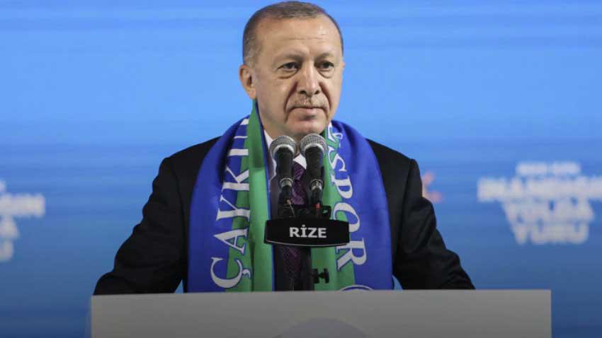 """Gara şehitlerinin ardından Erdoğan'dan sert sözler """"ABD bal gibi PKK'nın yanında ve arkasında"""""""